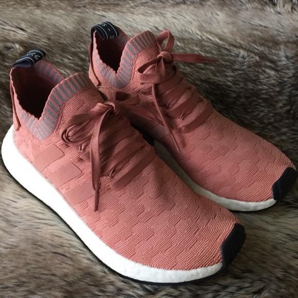 bd93e046f Adidas NMD R2 Primeknit Sneakers Women s 8.5